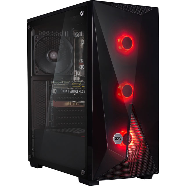 3XS Gaming Tower - Black - Core 2060 Super - 3XS-102180 - 1