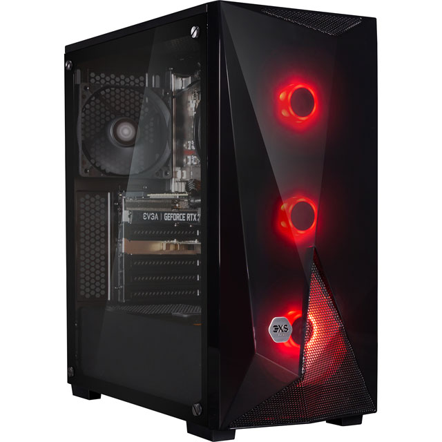 3XS Core 2070 SUPER RGB Gaming Tower - 1TB SSD - Black