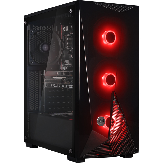 3XS Core 2080 SUPER RGB Gaming Tower - 1TB + 1TB - Black