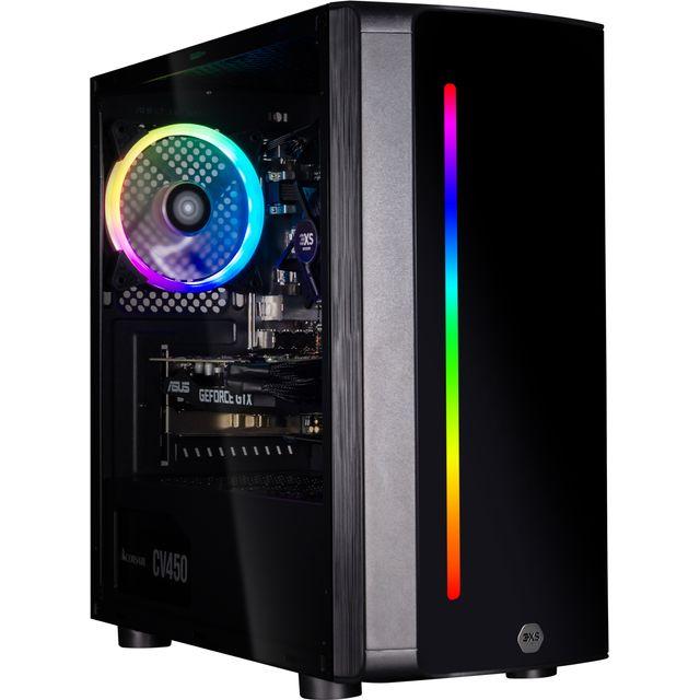 3XS Core 1660 RGB Gaming Tower - 500GB SSD - Black