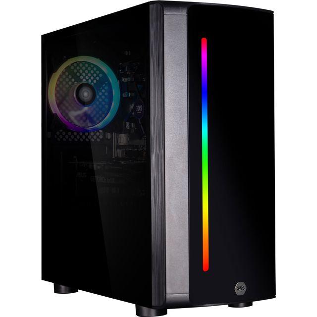 3XS Gaming Desktop in Matte Black