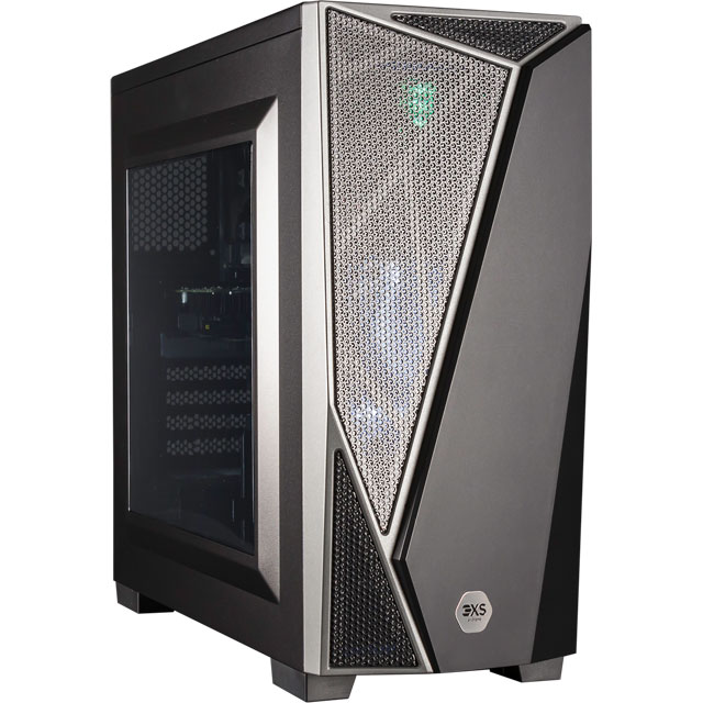 3XS CORE 1050Ti Gaming Tower - Grey - 3XS-91255 - 1