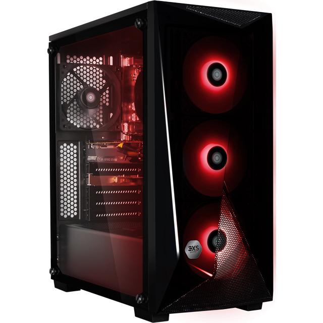 3XS 3XS-95604 Gaming Desktop in Black