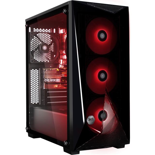 3XS 3XS-95605 Gaming Desktop in Black