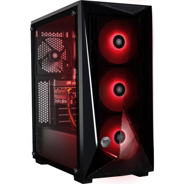 3XS 3XS-95606 Gaming Desktop in Black