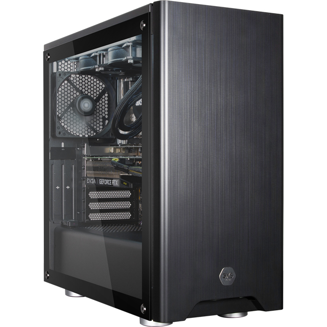 3XS Gaming Tower - Black - Halo Gamer 2060 RGB - 3XS-95607 - 1