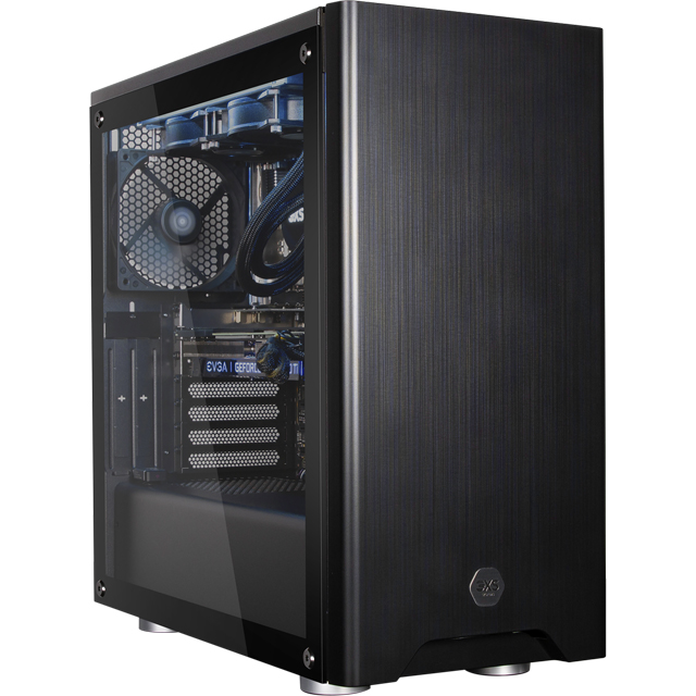 3XS Halo Gamer 2080 Ti RGB Gaming Tower - Black - 3XS-95610 - 1