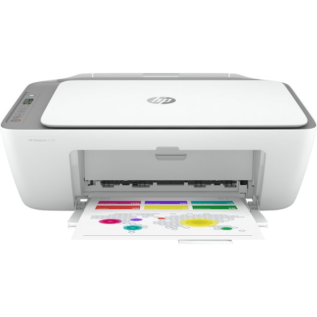 HP Deskjet 2720 Inkjet Printer - Grey