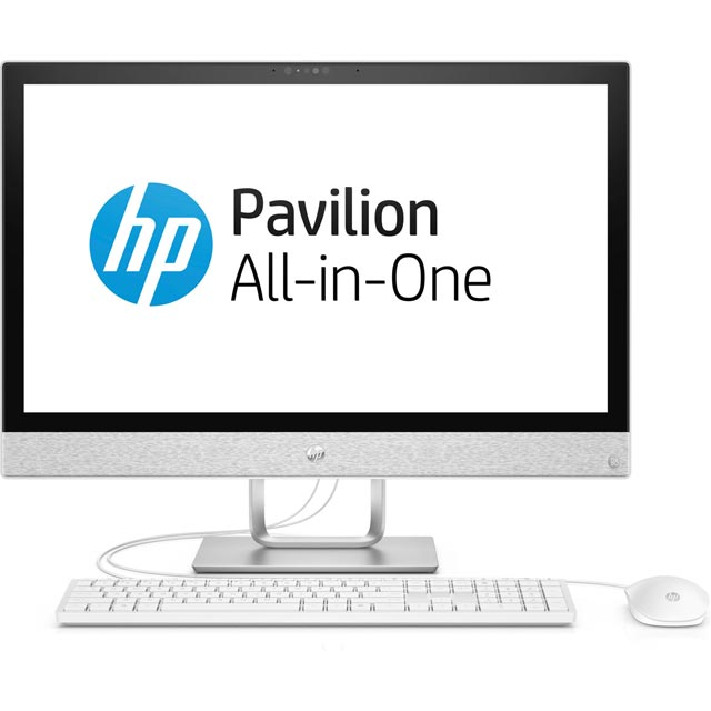 "HP 24-r191na 23.8"" All In One - White - 3ZY26EA#ABU - 1"