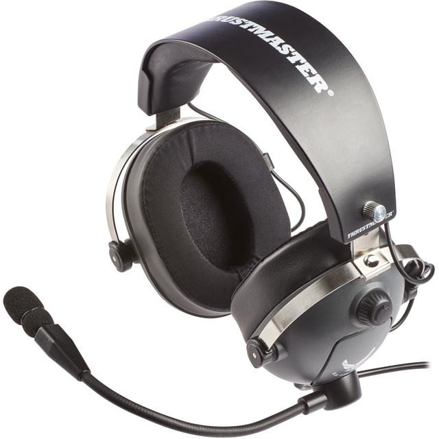 Thrustmaster 4060104 Console Headset in Grey