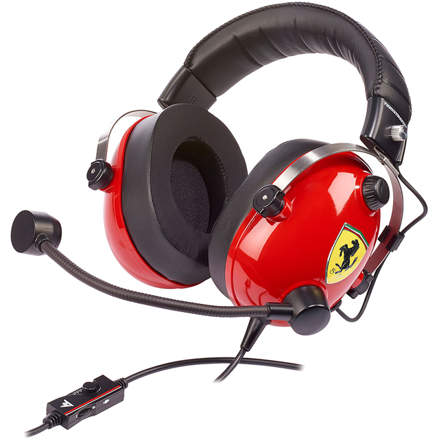 Thrustmaster 4060105 Console Headset in Red