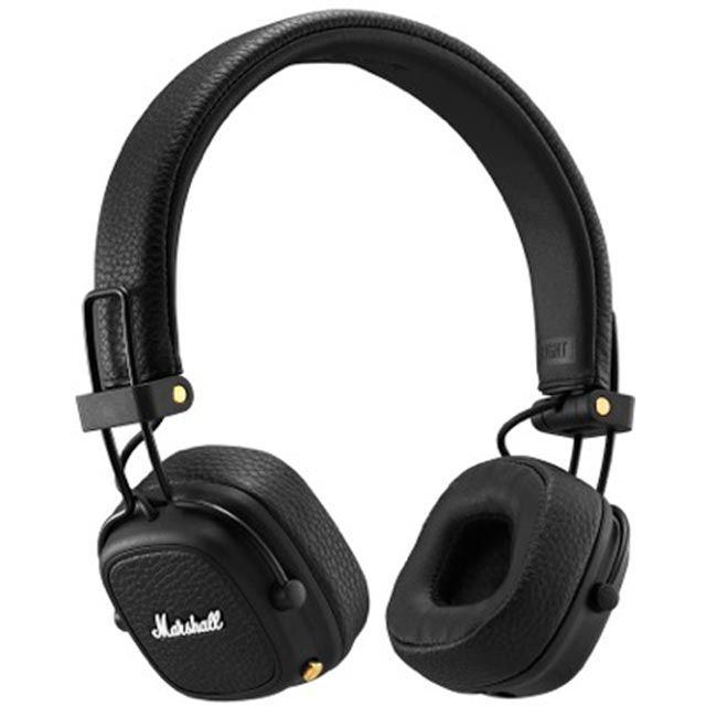 Marshall Major III On-ear High-res Audio Wireless Headphones - Black