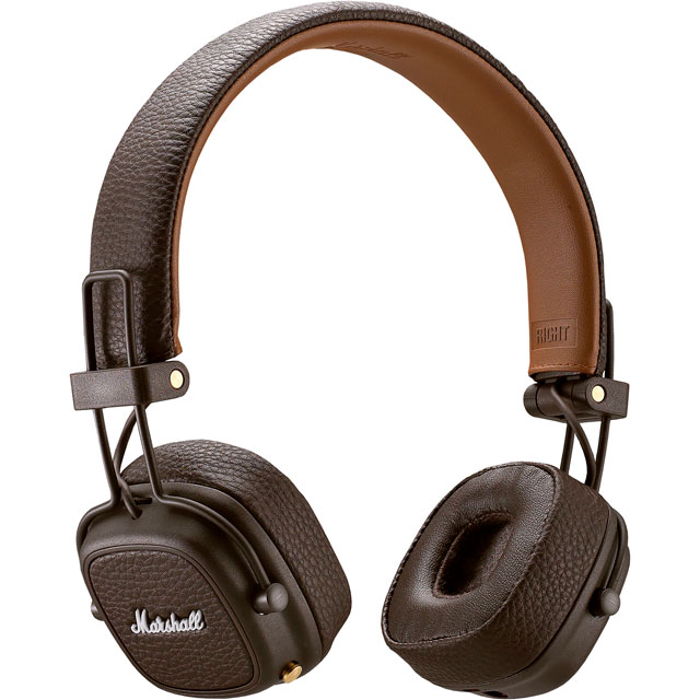 Marshall Major III On-ear Wireless Headphones - Brown - 4092187 - 1