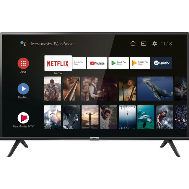 """TCL 40ES568 40"""" Smart 1080p Full HD Android TV"""