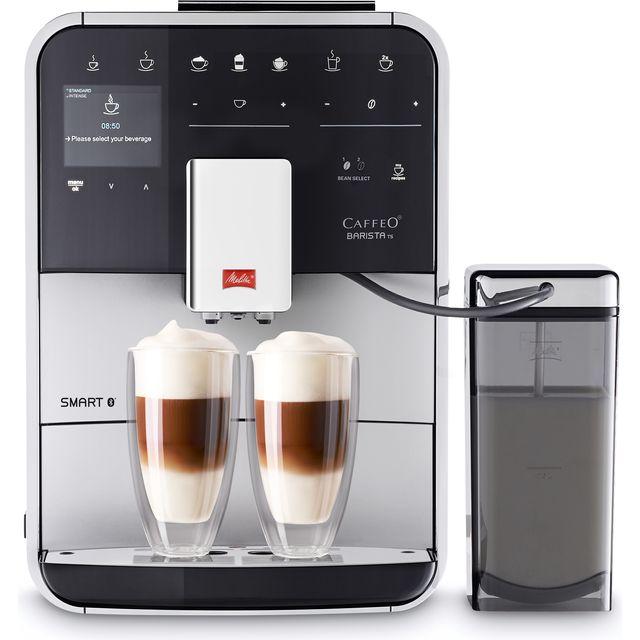 Melitta Barista TS Smart 6764548 Bean to Cup Coffee Machine - Silver