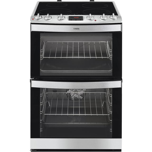 Image of AEG 41102IU-MN Free Standing Cooker in Stainless Steel