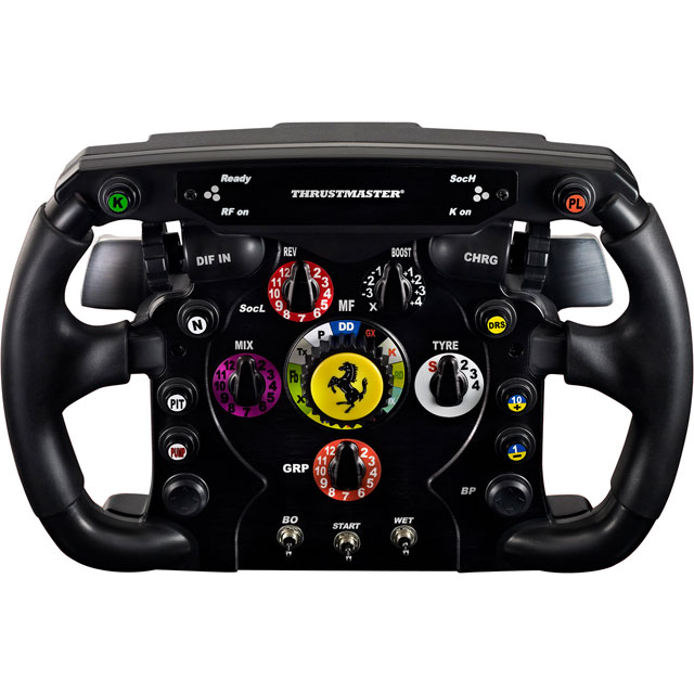 Thrustmaster 4160571 Console Steering Wheel in Black