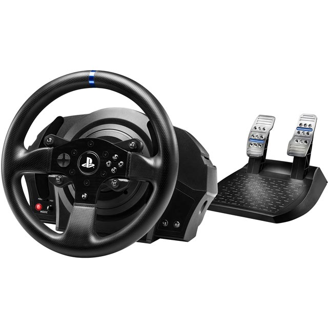Thrustmaster T300 RS Steering Wheel & Pedals - Black - 4168049 - 1