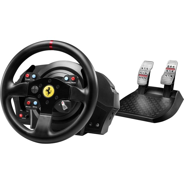 Thrustmaster T300 Ferrari GTE Edition Steering Wheel & Pedals - Black - 4168050 - 1