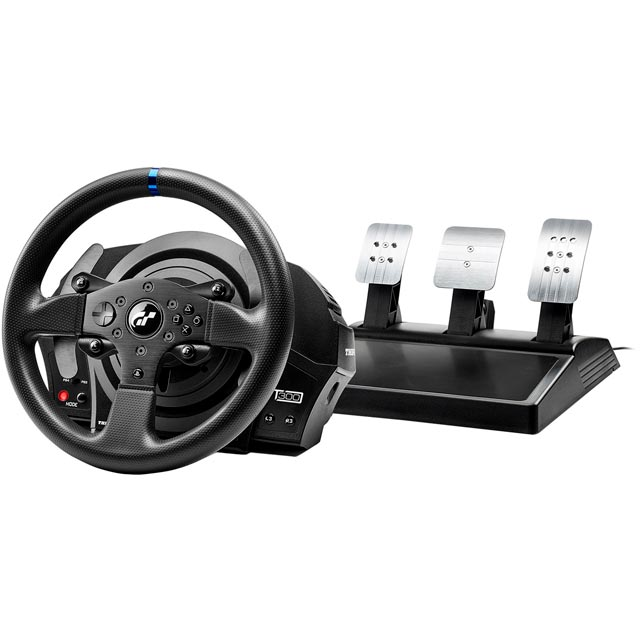 Thrustmaster Black Steering Wheel and Pedals - 4168057 - 4168057 - 1