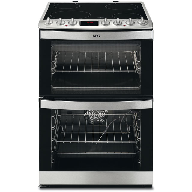 Image of AEG 43102V-MN Free Standing Cooker in Stainless Steel