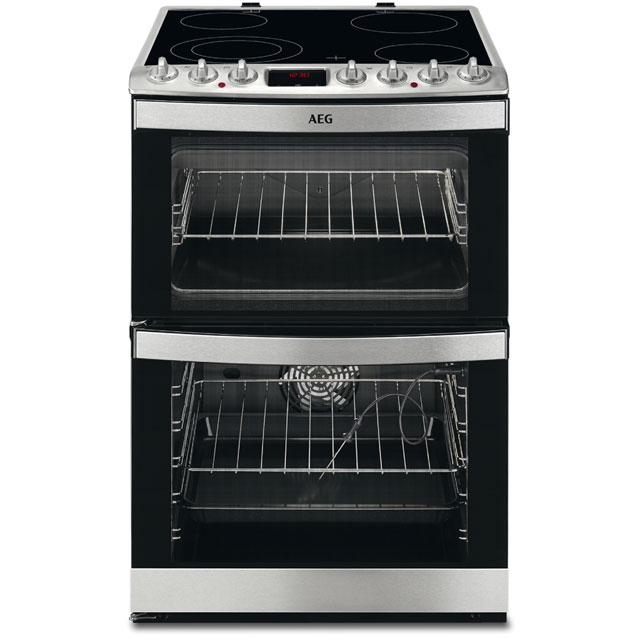 Image of AEG 43172V-MN Free Standing Cooker in Stainless Steel