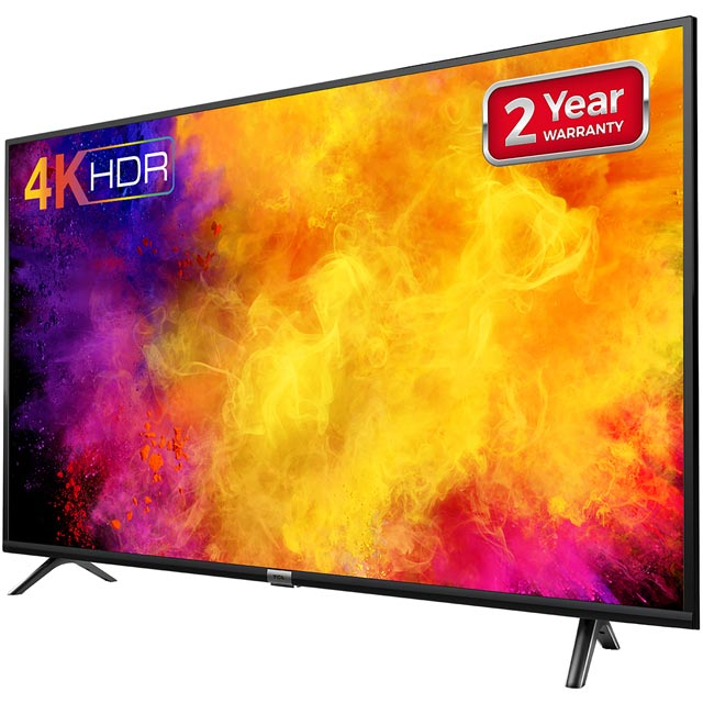 "TCL 55DP628 55"" Smart 4K Ultra HD TV - Black - 55DP628 - 2"