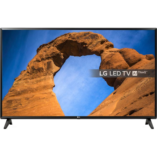 "LG 43"" Smart TV with Freeview Play - Black - [A+ Rated]"
