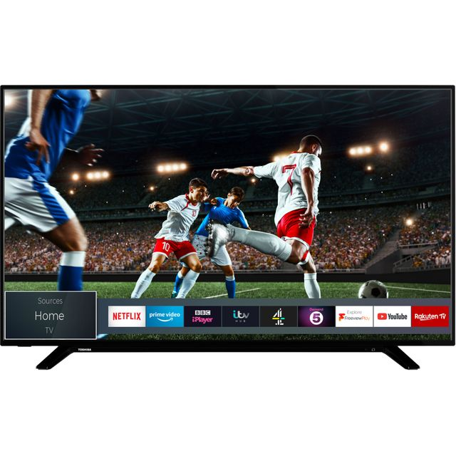 "Toshiba 43U2963DB 43"" Smart 4K Ultra HD TV - Black - 43U2963DB - 1"