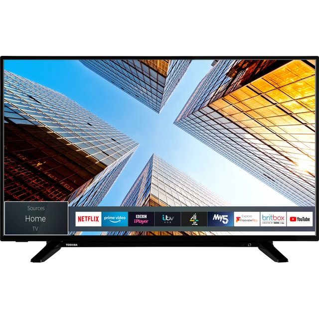 "Toshiba 43UL2063DB 43"" Smart 4K Ultra HD TV - Black - 43UL2063DB - 1"