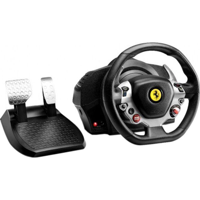 Thrustmaster TX Ferrari F458 Italia Edition Steering Wheel & Pedals - Black