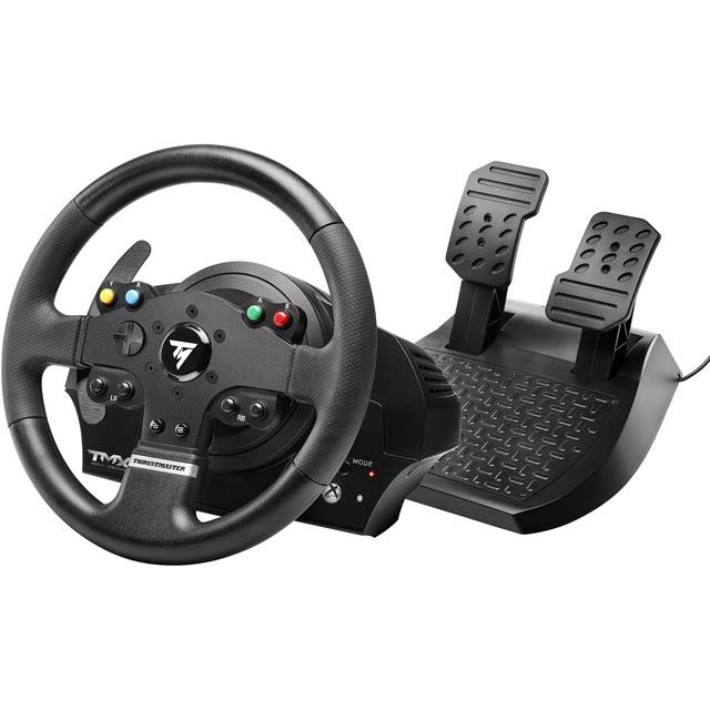 Thrustmaster TMX Force Feedback Steering Wheel & Pedals - Black