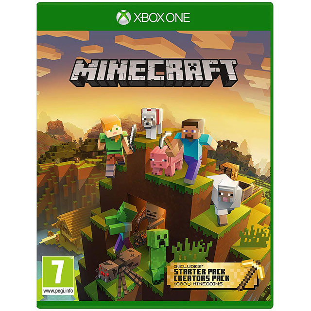 Minecraft Master Collection for Xbox One - 44Z-00139 - 1