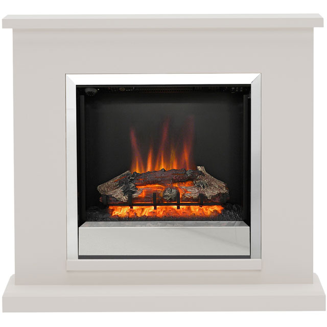 BeModern Elsham 4510 Log Effect Suite And Surround Fireplace - Cashmere - 4510_CSH - 1