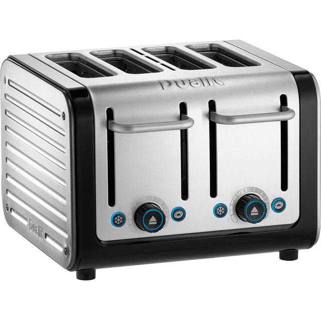 Dualit Architect 46505 4 Slice Toaster - Black / Brushed Steel