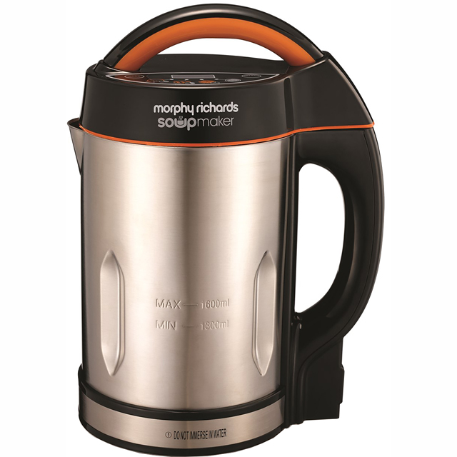 Morphy Richards 48822 1.6 Litre Soup Maker - Stainless Steel - 48822_SS - 1