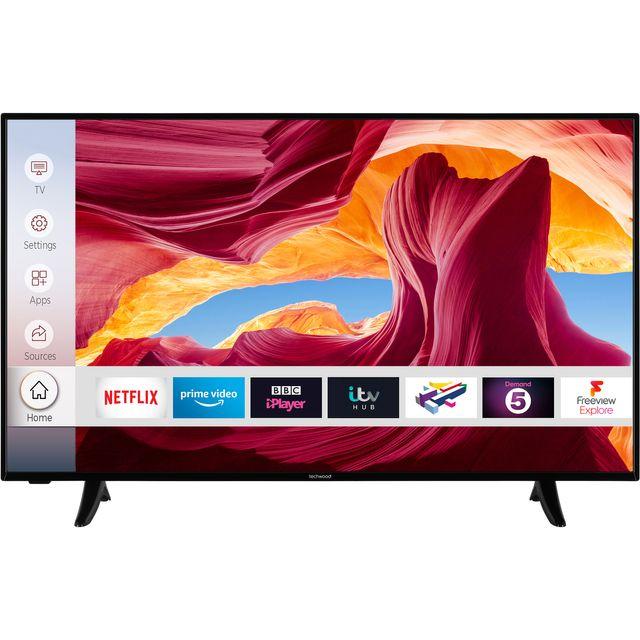 "Techwood 49AO9UHD 49"" Smart 4K Ultra HD TV"