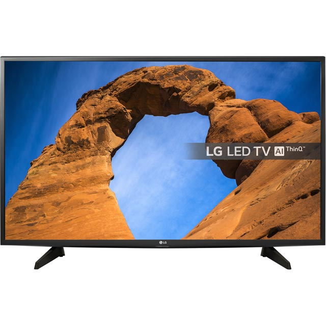 "LG 43"" TV - Black - [A+ Rated]"