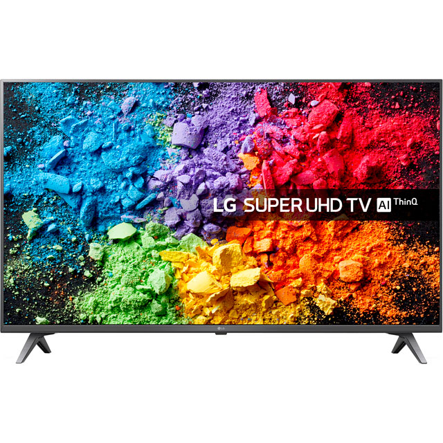 "LG 49SK8000PLB 49"" Smart 4K Super UHD TV with HDR, Nano Cell, Dolby Atmos and Freeview Play - 49SK8000PLB - 1"