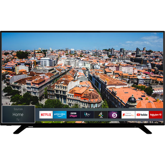 "Toshiba 49U2963DB 49"" Smart 4K Ultra HD TV with HDR10 and Dolby Vision - 49U2963DB - 1"
