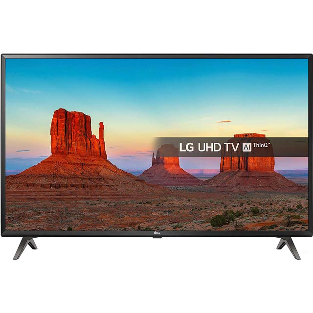 "LG 49UK6300PLB 49"" Smart 4K Ultra HD TV with HDR and Freeview Play - 49UK6300PLB - 1"
