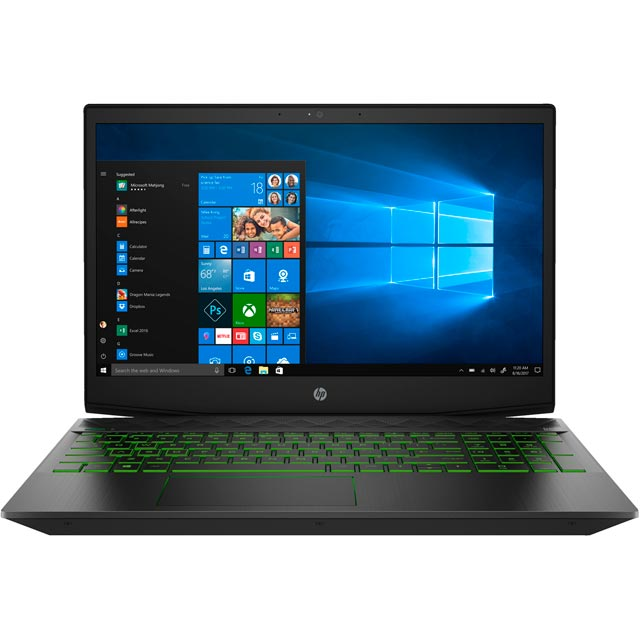 "HP 15-cx0001na 15.6"" Gaming Laptop - Shadow Black - 4AN69EA#ABU - 1"