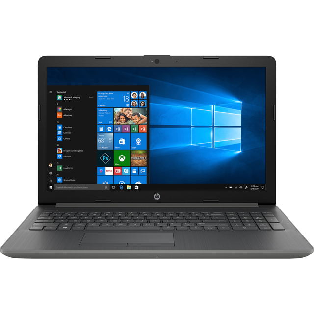 "HP 15-da0011na 15.6"" Laptop - Smoke Grey - 4AQ37EA#ABU - 1"