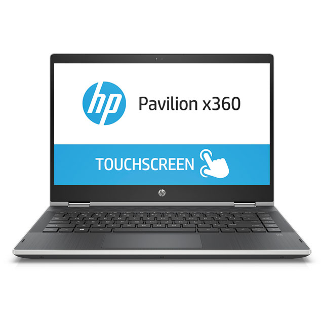 "HP Pavilion x360 - 14-ba104na 14"" 2-in-1 Laptop - Silver"