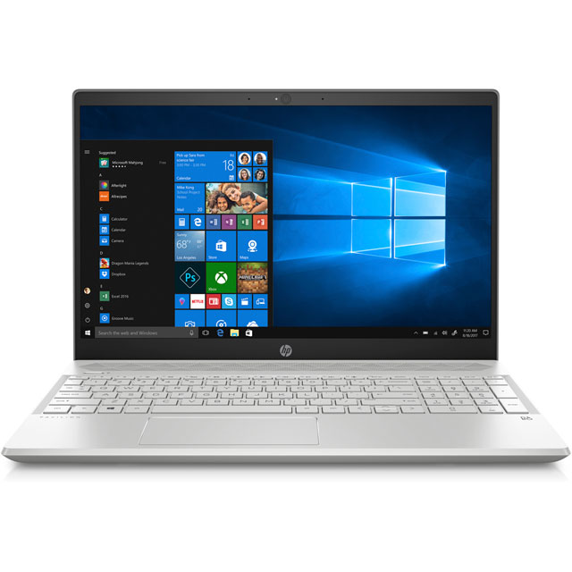 "HP Pavilion 15-cs0015na 15.6"" Laptop - Silver"