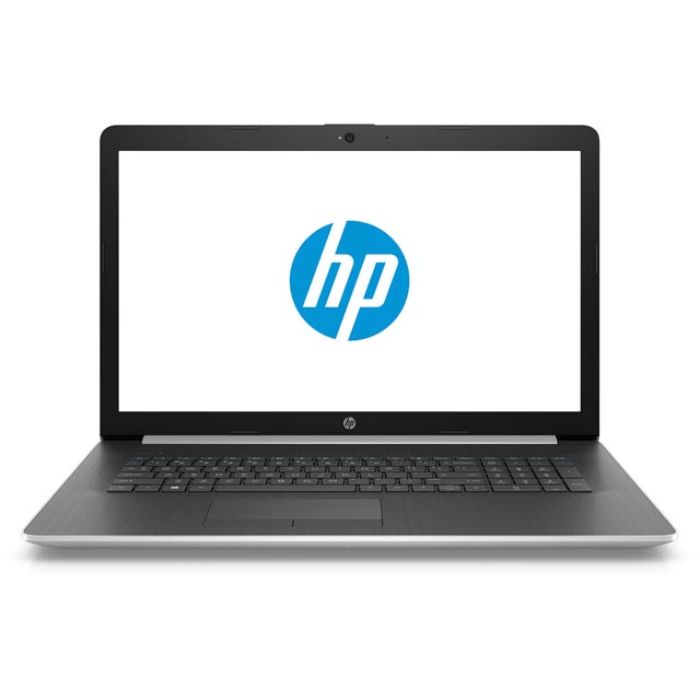 "HP 17-by0000na 17.3"" Laptop - Natural Silver - 4CP68EA#ABU - 1"