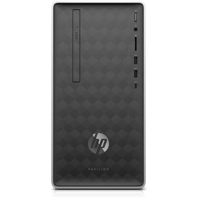 HP Desktop Pc in Ash Silver