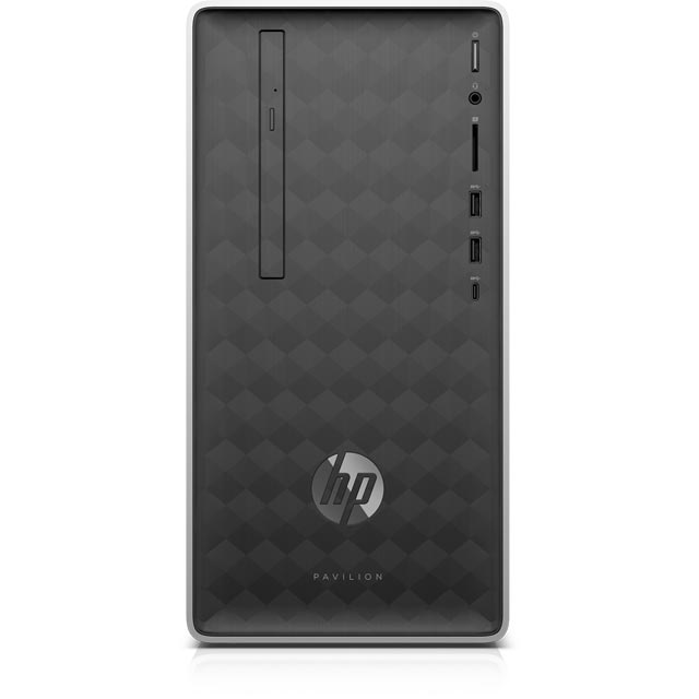 HP Tower Intel® Core™ i3 8GB RAM - Natural Silver