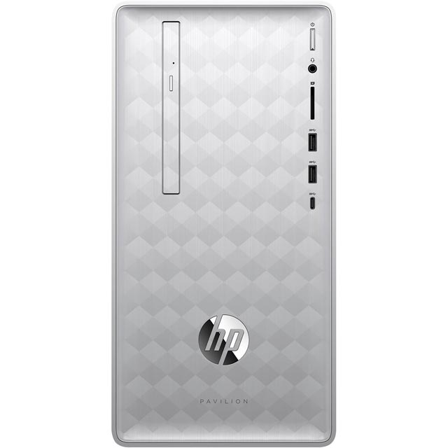 HP Pavilion 590-p0038na Tower - Natural Silver - 4DW38EA#ABU - 1