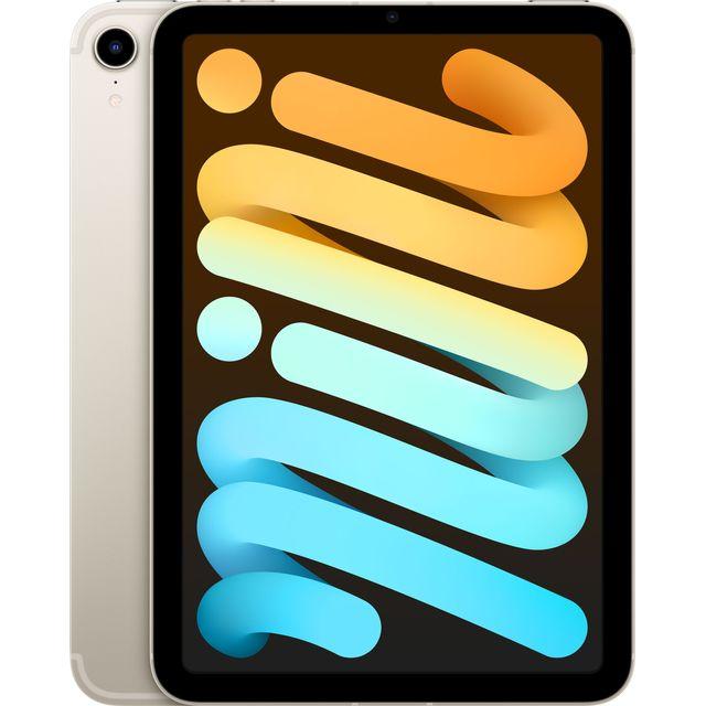 """Apple iPad Mini 8.3"""" 64GB WiFi + Cellular 2021 Starlight"""